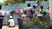 SOS HAITI ENFANTS ADOPTES - Crèche Notre-Dame des Victoires, le 6 mars 2010
