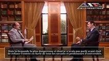 Syrie : Interview de Bachar Al-Assad sur Colin Powell, Jacques Chirac et le terrorisme en Irak