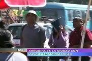 TVMUNDO Arequipa: Arequipa tiene la mayor radiación solar del mundo.