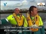 KNRM Hoek van Holland medische evacuatie van schip.