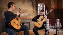 """Astor Piazzolla """"Tango Suite"""" for two guitars Duo Pace Poli Cappelli (guitar duo)"""