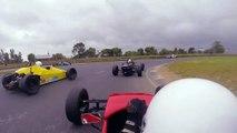 Irish Formula Vee 2015 - Round 7 - Mondello 'B & C Race' [ON BOARD] P8 - P1