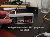 NES Controller Ipod Shuffle Mp3 Player