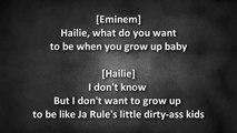 Eminem ft. D12 & Obie Trice - Doe Rae Me (Hailies Revenge) (Lyrics) [HD & HQ]