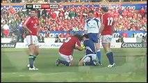 Bakkies Botha injures Adam Jones