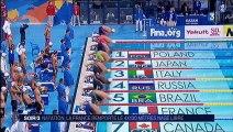 Mondiaux de natation : l'équipe de France conserve son titre en relais 4x100 m