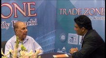 A.K Memon hosting forum Abdul Sami Khan - Chairman All Pakistan CNG Dealer Association discussing at Trade Zone Forum.