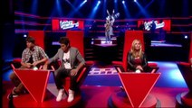 Charly Luske - This Is A Man's World (The Blind Auditions - The voice of Holland 2011)