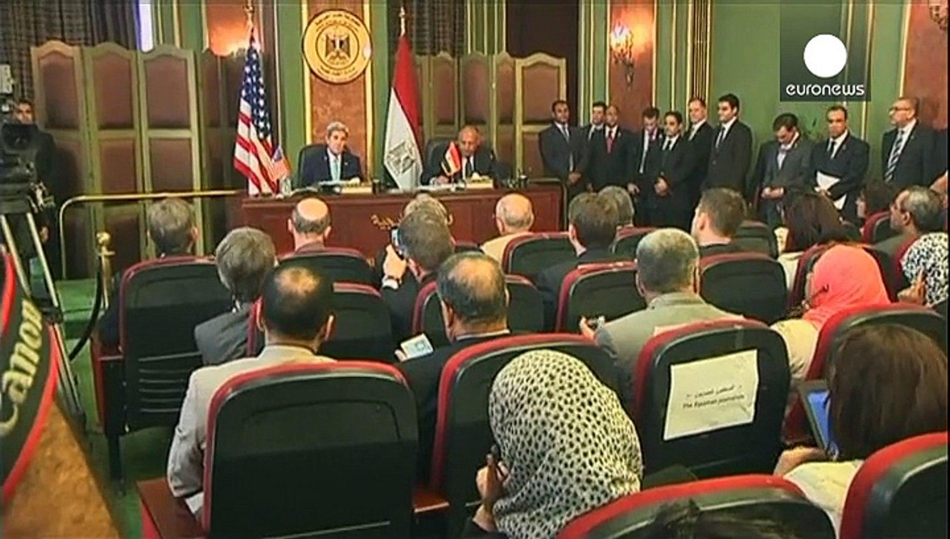 Керри в Египте: Каир и Вашингтон налаживают стратегический диалог