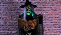Spell Speaking Witch Animated Halloween Prop