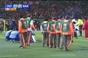 MINUTOS FINAIS - Inter 1x0 Barcelona - REDE GLOBO - Mundial de Clubes 2006