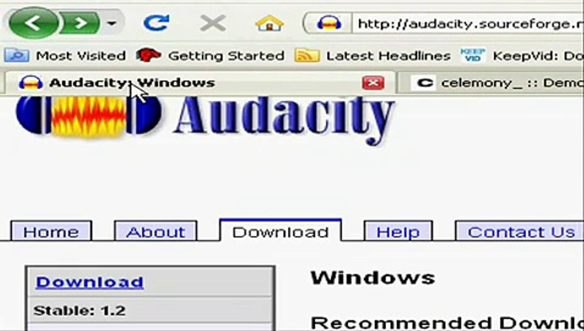 How to create a GLaDOS voice with Audacity and Melodyne Demo