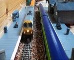 IÉ 201 Class hauling MkIIIs around Kilmeg