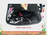 farbenreich 13-13.3 Zoll Laptop Netbook mit Schulterriemen Handgriff-Beutel-Kasten-Abdeckung