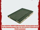JAMMYLIZARD   Smart Case Ledertasche f?r Samsung Galaxy Tab 3 10.1 BRAUN