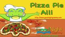 Alli E Gator in Pizza Pie Alli