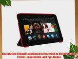 rooCASE Amazon Kindle Fire HDX 7 Ultra Slim Case H?lle - Horizontal Vertikal St?nderfunktion