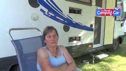 """Georgette et André, camping-caristes : """"après l'accident de scooter, nous avons repris tout de suite"""""""