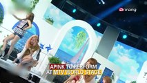 APINK TO PERFORM AT MTV WORLD STAGE