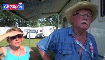 """Pierre et Yvette : """"le camping-car c'est fait pour bouger, même avec nos petit-enfants"""""""