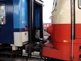 Vlaky Jihlava: R 660 ROŽMBERK, start, 16.1.2011