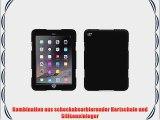 Griffin Survivor Rugged Case - Schutzh?lle f?r iPad Air 2 - Schwarz/Schwarz/Schwarz