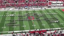Ohio State Marching Band Does A Dedication To Michael Jackson And Recreates The Moonwalk Marching Ba