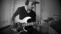 DAFT PUNK - Get Lucky [Bass Loop Solo by Miki Santamaria]