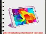 rooCASE Samsung Galaxy Tab 4 8.0 Ultra Slim Case H?lle - Horizontal Vertikal St?nderfunktion