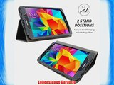 Snugg? Galaxy Tab 4 8 Zoll H?lle (Gris) - Smart Case mit lebenslanger Garantie
