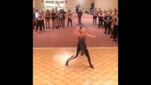 Maddie Ziegler doing a Hip Hop Combo at Sheer Talent