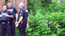 Caught Troy Police Coming out of someones back yard for no apparent reason. Troy NY