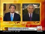 CNN entrevista al Presidente del Consejo de Ministros de Perú en el WEF 23 Enero 2014