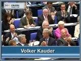 Volker Kauder zum Bundeshaushalt 2006