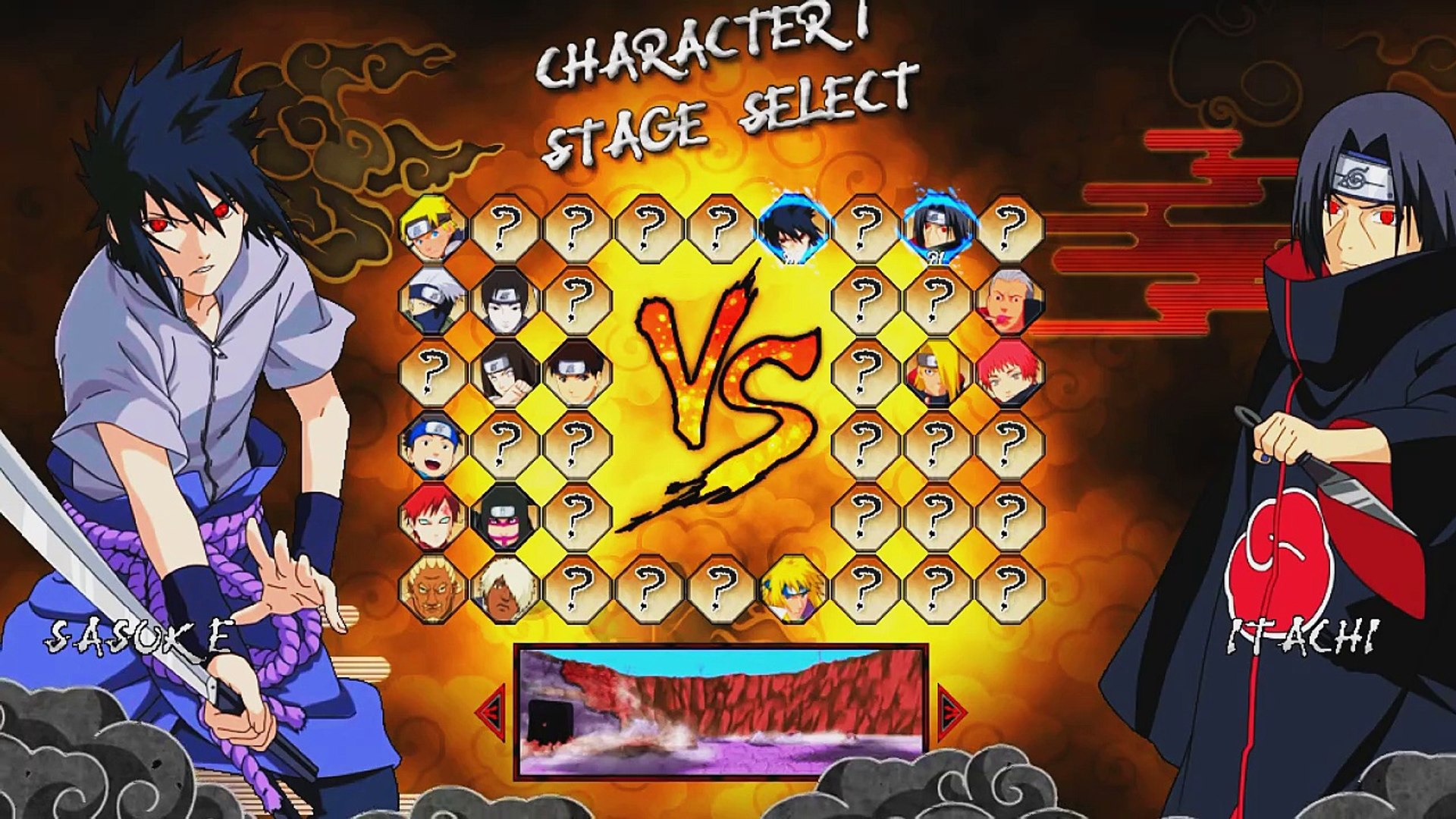 Naruto Wos War Of Shinobi Mugen Video Dailymotion