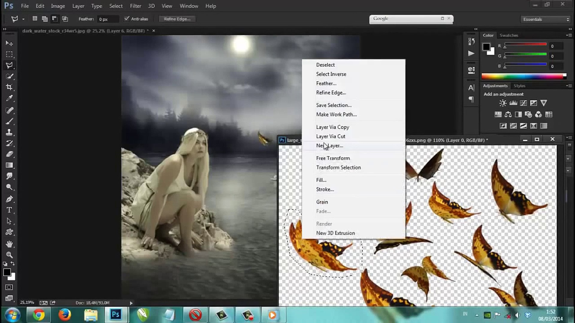 Tut Photoshop# PHOTOSHOP   TUTORIAL FANTASY