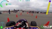 FSAE Michigan Autocross 2015: LSU Tiger Racing