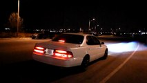 1992 TRD Supercharged Lexus ES300 Xforce Varex Exhaust fully open and fully close