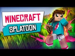 Minecraft : Map Splatoon avec les potes !