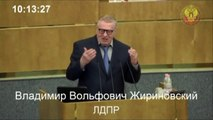 Russian politician Zhirinovsky speaks about political system in Russia (English subs)