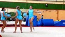 Gymnastique rythmique et sportive avec Lucé Sport Gym sur TV28 (extrait).
