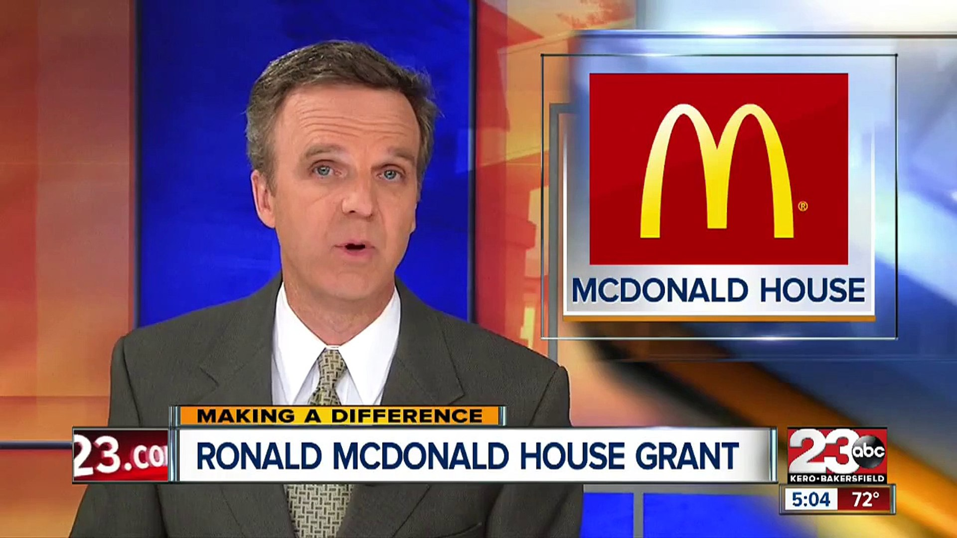 Ronald McDonald House gives grants to several local non-profits