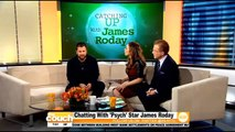 """Catching Up With """"Psych"""" Star James Roday"""