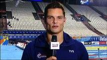 """Florent Manaudou, médaillé d'or à Kazan : """"Je voulais m'amuser"""" avant le 50 m nage libre"""