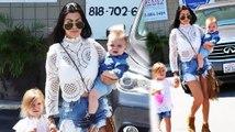 Kourtney Kardashian est estival avec ses enfants à Los Angeles