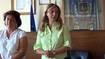 Aversa (CE) - Consegna attestati corso di italiano per stranieri (10.07.15)