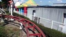 Navel Coaster Japanese Jet Roller Coaster Shibukawa Skyland Japan Onride POV