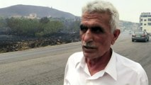 Syria's Homs countryside ravaged by wildfire