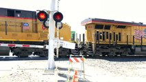 Union Pacific 8146 Manifest Northbound, Florin Road Railroad Crossing