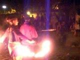 Fire Fan et Feu d'artifice Staff puis Cracheurs de Feux